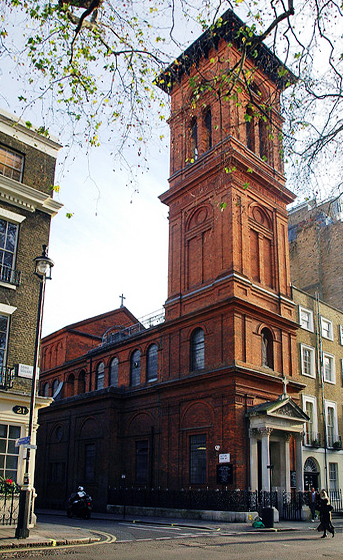 St Patricks Church, Soho
