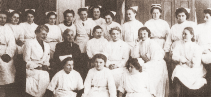 Malta Hospital Staff Warsaw 1941